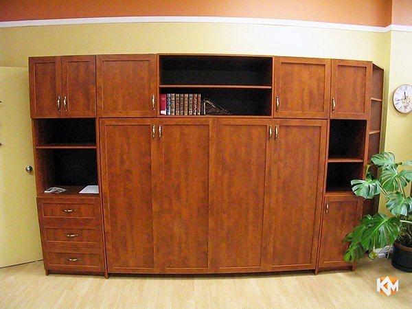 Откидной шкаф-кровать горизонтальный