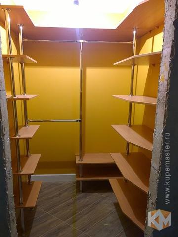 """Гардеробная комната """"компактная"""" - мебель на заказ от фабрик."""