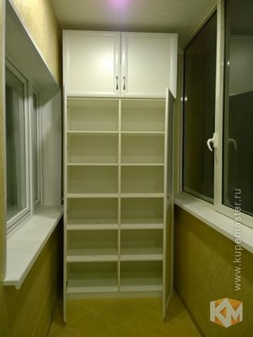 """Распашной шкаф """"балкон"""" - мебель на заказ от фабрики """"купема."""