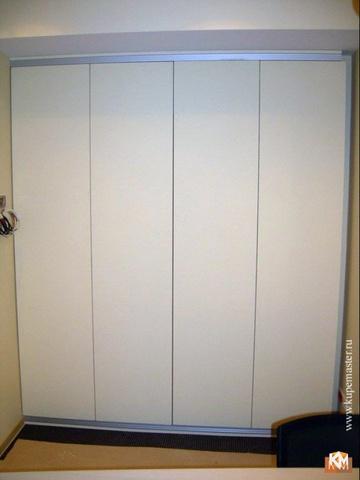 """Распашной шкаф """"белая стена"""" - мебель на заказ от фабрики """"к."""